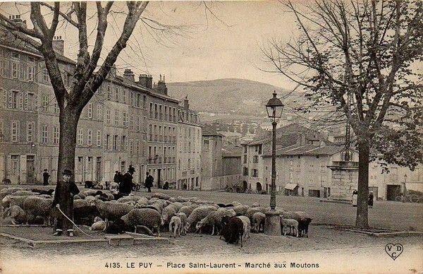Place Saint-Laurent - Marché aux Moutons